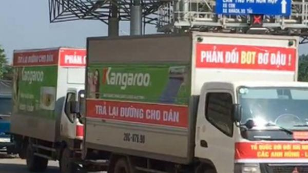 Thái Nguyên: Diễu hành phản đối trạm BOT Thái Nguyên - Chợ Mới