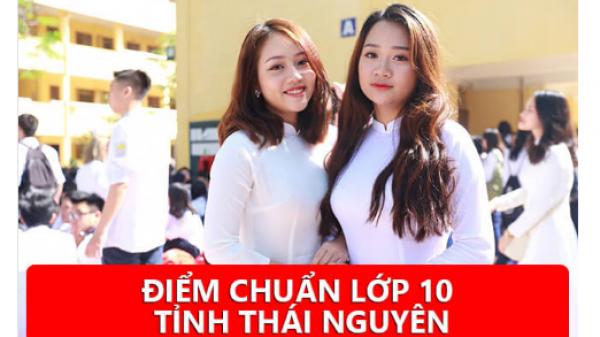 NÓNG: Chính thức ĐIỂM CHUẨN  lớp 10 các trường tại Thái Nguyên