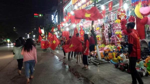 Thái Nguyên: Màn hình led CỰC KHỦNG trực tiếp trận bán kết U23 Việt Nam – U23 Hàn Quốc
