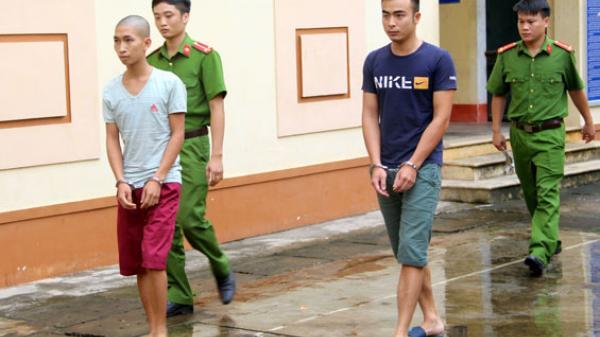 Thái Nguyên: Bắt giữ 2 đối tượng phá hoại xe bus