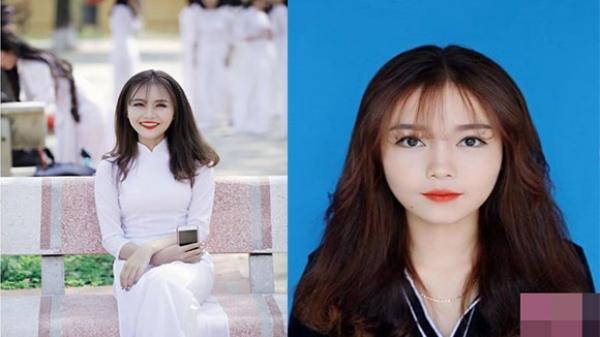 """Hot girl ảnh thẻ"""" Thái Nguyên tuyệt xinh khiến dân mạng mê đắm"""