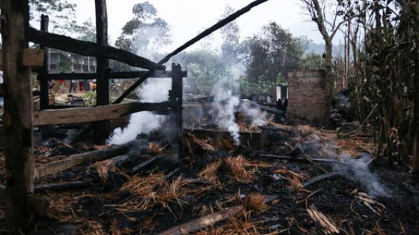 Thái Nguyên: Cháy nhà gây thiệt hại hàng trăm triệu đồng