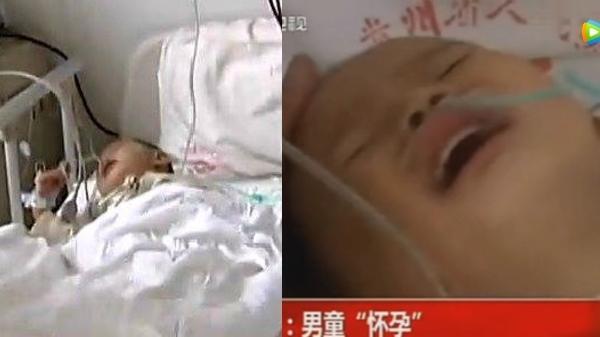 Bé trai 2 tuổi đột nhiên 'ốm nghén' và mang thai khó hiểu, kết quả khám của bác sĩ càng khiến nhiều người kinh ngạc