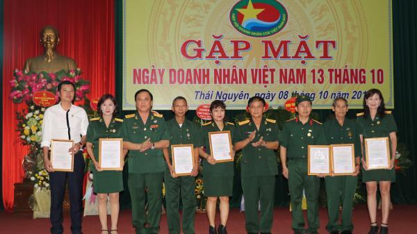 Hội Doanh nhân Cựu chiến binh tỉnh Gặp mặt nhân Kỷ niệm ngày Doanh nhân Việt Nam