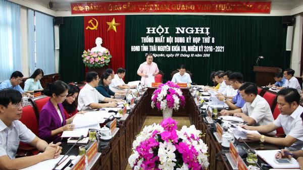 Thường trực HĐND tỉnh Thái Nguyên thống nhất nội dung Kỳ họp thứ 8, HĐND tỉnh khóa XIII