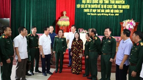 Đại biểu Quốc hội tỉnh khóa XIV tiếp xúc cử tri trước Kỳ họp thứ 6