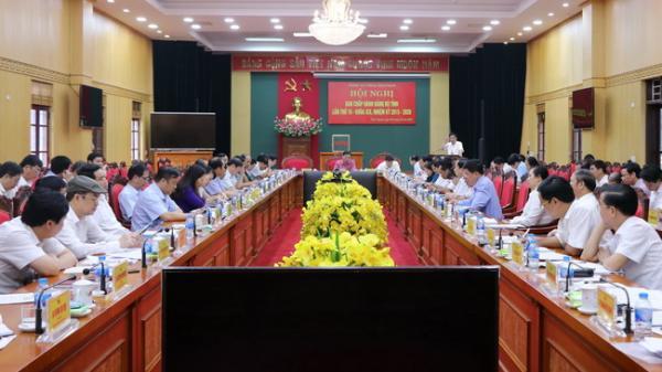 Hội nghị Ban Chấp hành Đảng bộ tỉnh lần thứ 16 khóa XIX (mở rộng)