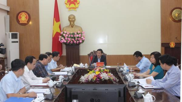 Chủ tịch UBND tỉnh Vũ Hồng Bắc chủ trì cuộc họp đánh giá tiến độ thực hiện Dự án Tôn tạo Di tích lịch sử Quốc gia TNXP Đại đội 915