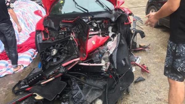 Công an bàn giao siêu xe Ferrari 488 bị t.ai nạ.n cho ca sĩ Tuấn Hưng
