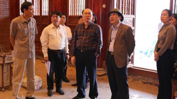 Thái Nguyên: Chủ tịch UBND tỉnh kiểm tra tiến độ thực hiện Dự án Tôn tạo và phát huy giá trị Di tích lịch sử quốc gia Địa điểm lưu niệm các TNXP Đại đội 915