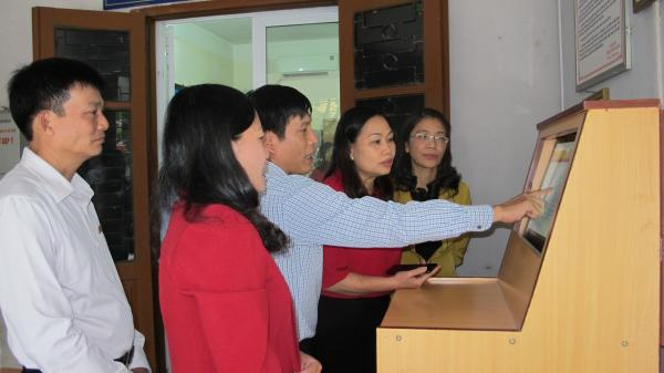 Giám sát công tác cải cách hành chính tại Sở Văn hóa, Thể thao và Du lịch