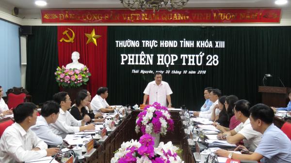 Phiên họp thứ 28 Thường trực HĐND tỉnh: Cho ý kiến vào một số dự thảo báo cáo, tờ trình