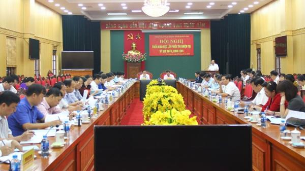 Thái Nguyên: Triển khai việc lấy phiếu tín nhiệm đối với người giữ chức vụ do HĐND tỉnh bầu