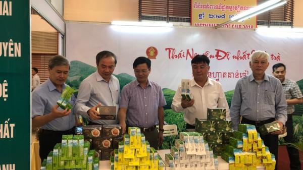 Tỉnh Thái Nguyên tham gia Hội chợ Thương mại Việt Nam tại Campuchia năm 2018