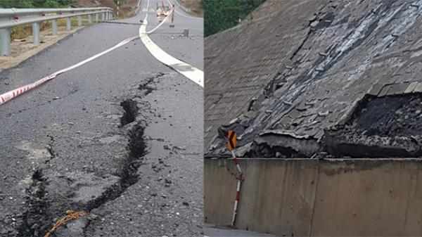 Xuất hiện nhiều điểm xuống cấp,hư hỏng nặng tại Quốc lộ 3 mới đoạn Thái Nguyên – Chợ Mới