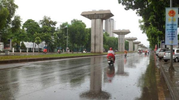 Miền Bắc mưa đến hết tháng