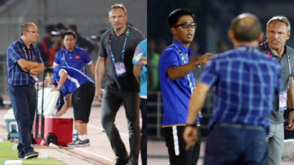 """Hé lộ nguyên nhân thầy Park giận """"đỏ mặt"""", từ chối bắt tay HLV trưởng ĐT Myanmar sau trận đấu"""