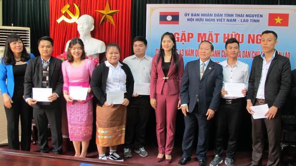 Gặp mặt hữu nghị chào mừng kỷ niệm 43 năm Quốc khánh nước CHDCND Lào