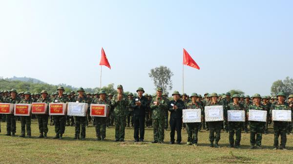 Thái Nguyên: Hoàn thành xuất sắc diễn tập khu vực phòng thủ tỉnh năm 2018