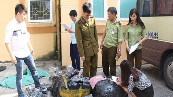 Thái Nguyên: Tạm giữ xe khách vận chuyển hàng không rõ nguồn gốc xuất xứ