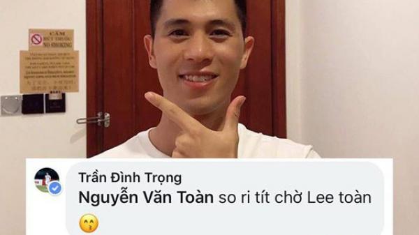 Cẩn thận như Đình Trọng: Nói tiếng Anh sợ người ta không hiểu nên ghi hẳn phiên âm... tiếng Việt cho lành!