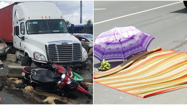 Không biết 4 điều 'giữ mạng' này khi đi đường có xe tải – xe container, nhiều người ch.ết oan