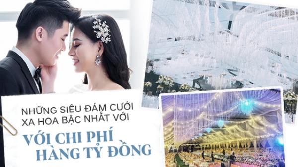 Những siêu đám cưới xa hoa bậc nhất năm 2018: Từ trang trí 13.000 bông hoa tươi tới đón dâu bằng siêu xe Maybach trị giá triệu đô