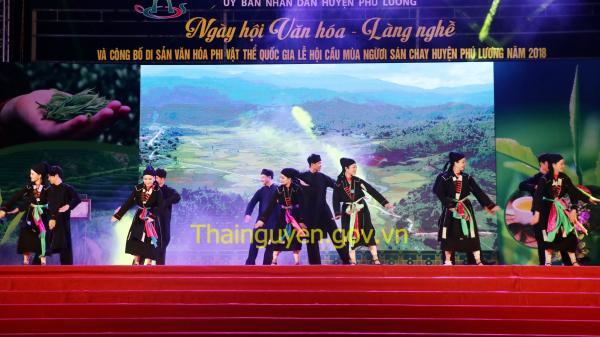"""Thái Nguyên: Ngày hội Văn hóa - Làng nghề và công bố di sản văn hóa phi vật thể Quốc gia """"Lễ hội Cầu mùa người Sán Chay"""" năm 2018"""