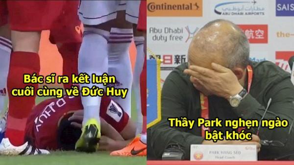 Bác sĩ khuyên Đức Huy không nên cố nhớ lại trận đấu, tránh bị đau đầu nhưng phản ứng của Đức Huy khiến ai cũng bất ngờ