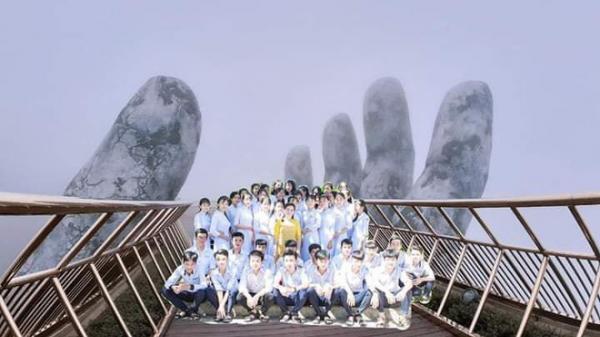 """Những tấm hình """"bá đạo"""" từ chuyến du lịch trong giấc mơ của một lớp học khiến dân mạng bàn tán"""
