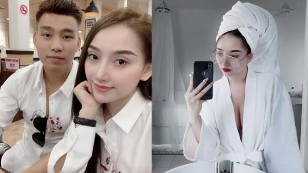 Vừa về nước, Văn Thanh đưa bạn gái siêu vòng 1 đi khách sạn 5 sao, ăn ngập mặt