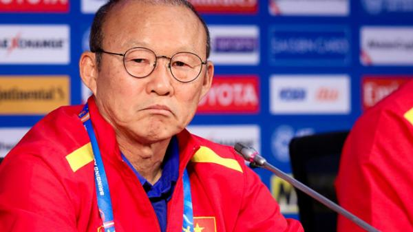 HLV Park Hang-seo nói gì sau trận thắng lịch sử trước đội tuyển Jordan?