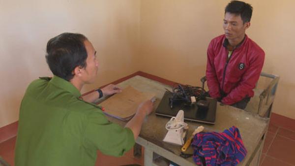 Đắk Lắk : Cán bộ điều tra góp tiền cho vợ con nghi phạm vụ cướ.p về quê ăn Tết
