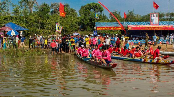 Đắk Lắk: Náo nức lễ hội đua thuyền dịp đầu Xuân ở Ea Hu