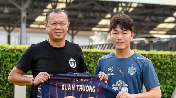 Chính thức ra mắt Buriram, Xuân Trường mang áo số 21, lĩnh lương top đầu Thai League