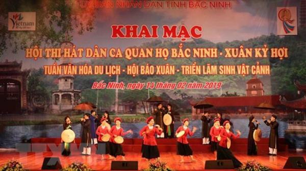 Bắc Ninh: Sôi nổi các hoạt động hưởng ứng Festival 'Về miền Quan họ 2019'