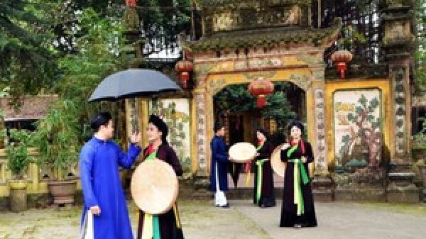 """Mùa Xuân, về Kinh Bắc """"chơi Quan họ"""""""