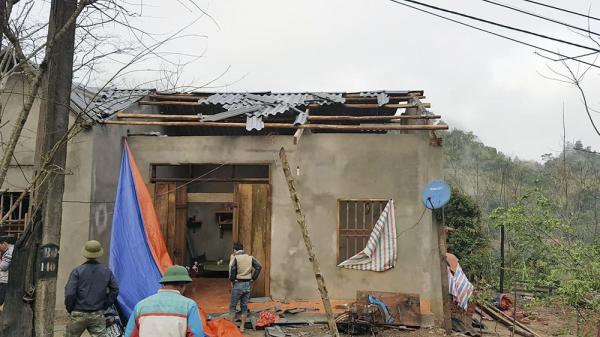 Chợ Đồn (Bắc Kạn): Hơn 200 nhà bị tốc mái, thiệt hại hơn 600 triệu đồng do mưa lốc