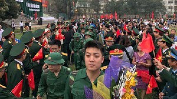 Hải Phòng: Trên 2.500 tân binh nô nức lên đường nhập ngũ