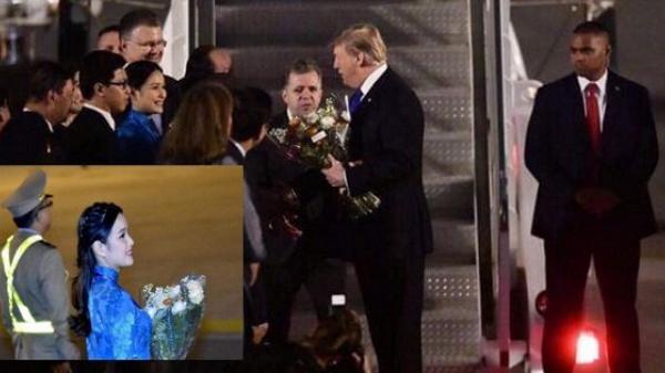 Nữ sinh tặng hoa Tổng thống Mỹ Donald Trump là ai?
