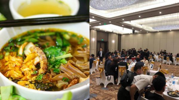 Bánh đa cua - đặc sản bình dân Hải Phòng lên bàn tiệc 5 sao tiếp đón phái đoàn Triều Tiên