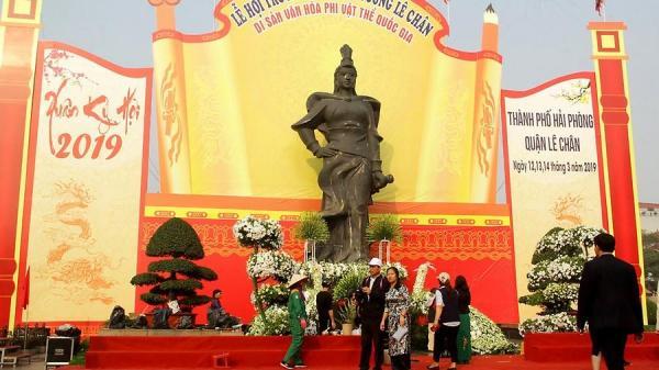 Hải Phòng: Tưng bừng Lễ hội Nữ tướng Lê Chân