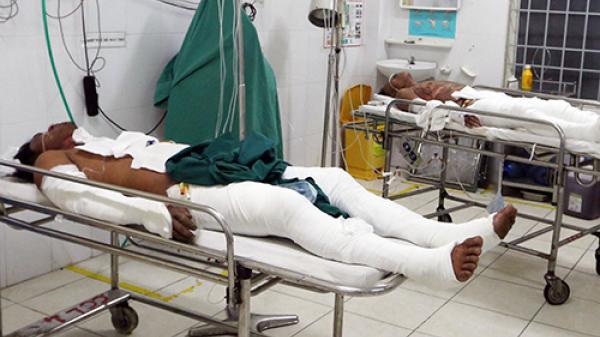 Khánh Hòa: 6 thanh niên bị bỏ.ng vì tẩm xă.ng lên người lúc nhậ.u