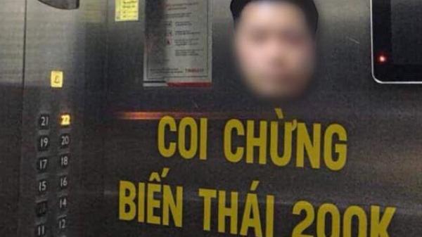 """Cư dân kêu gọi dán hình, cửa hàng từ chối phục vụ kẻ """"dê xồm"""" quê Hải Phòng sà.m s.ỡ nữ sinh trong thang máy để cảnh báo"""