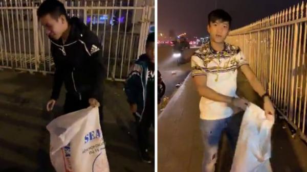 Hành động đặc biệt của Phan Văn Đức, Đỗ Hùng Dũng trong ngày U23 Việt Nam đè bẹp Thái Lan