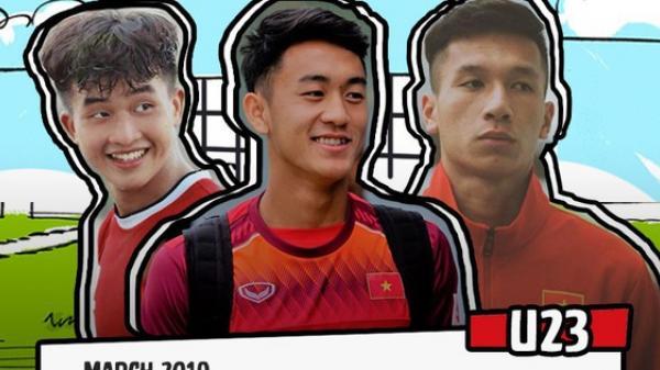 Bản đồ trai đẹp mới toanh của U23 có khả năng cướp tim fangirl trong 1 nốt nhạc