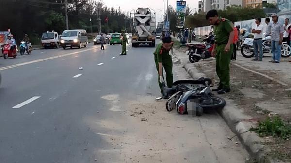 Nữ công nhân bị xe bồn kéo lê gần 20 mét, t.ử vo.ng th.ương tâm trên đường đi làm về gần đến nhà