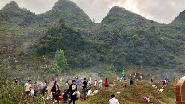 Bắc Kạn: Độc đáo Tết Thanh minh của người Tày, Nùng