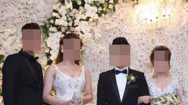 Sự thật sau bức ảnh nữ khách mời mặc váy trắng giống hệt cô dâu khiến dân tình hoang mang không biết ai là nhân vật chính