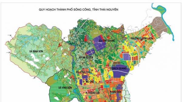Thái Nguyên tính đổi 20ha đất lấy 2km đường